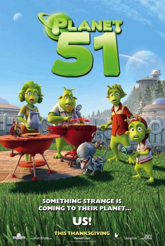 Nuovo poster per Planet 51