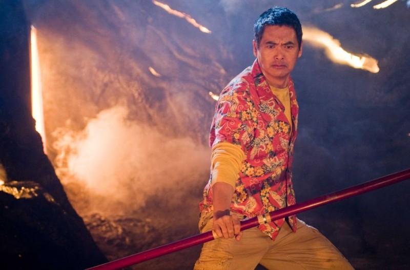 Chow Yun-Fat interpreta il Maestro Roshi nel film Dragonball