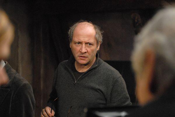 Il regista Robert Dornhelm sul set de 'La Bohème'