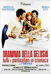 La copertina di Dramma della gelosia (dvd)