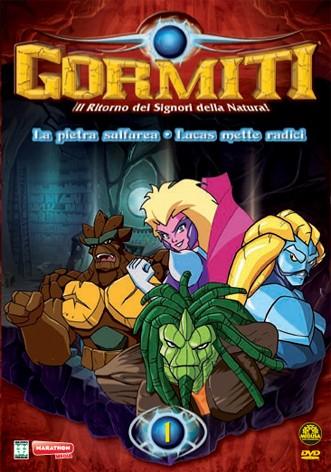 La copertina di Gormiti - Il ritorno dei Signori della Natura - vol. 1 (dvd)