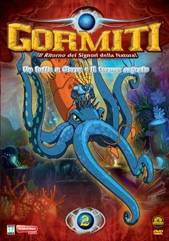 La copertina di Gormiti - Il ritorno dei Signori della Natura - vol. 2 (dvd)