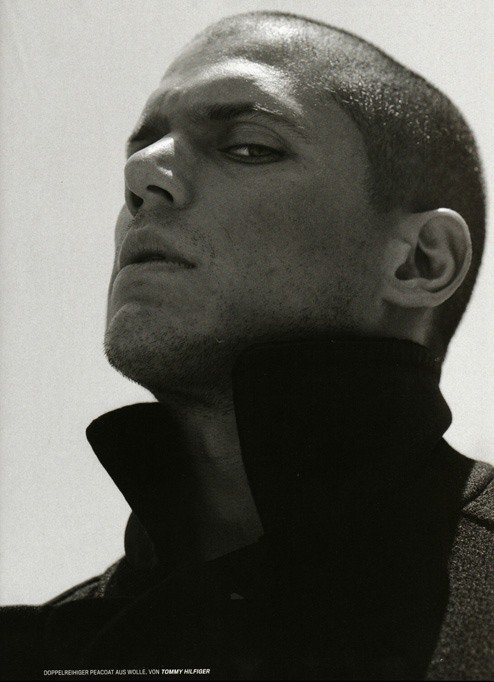 primo piano di Wentworth Miller