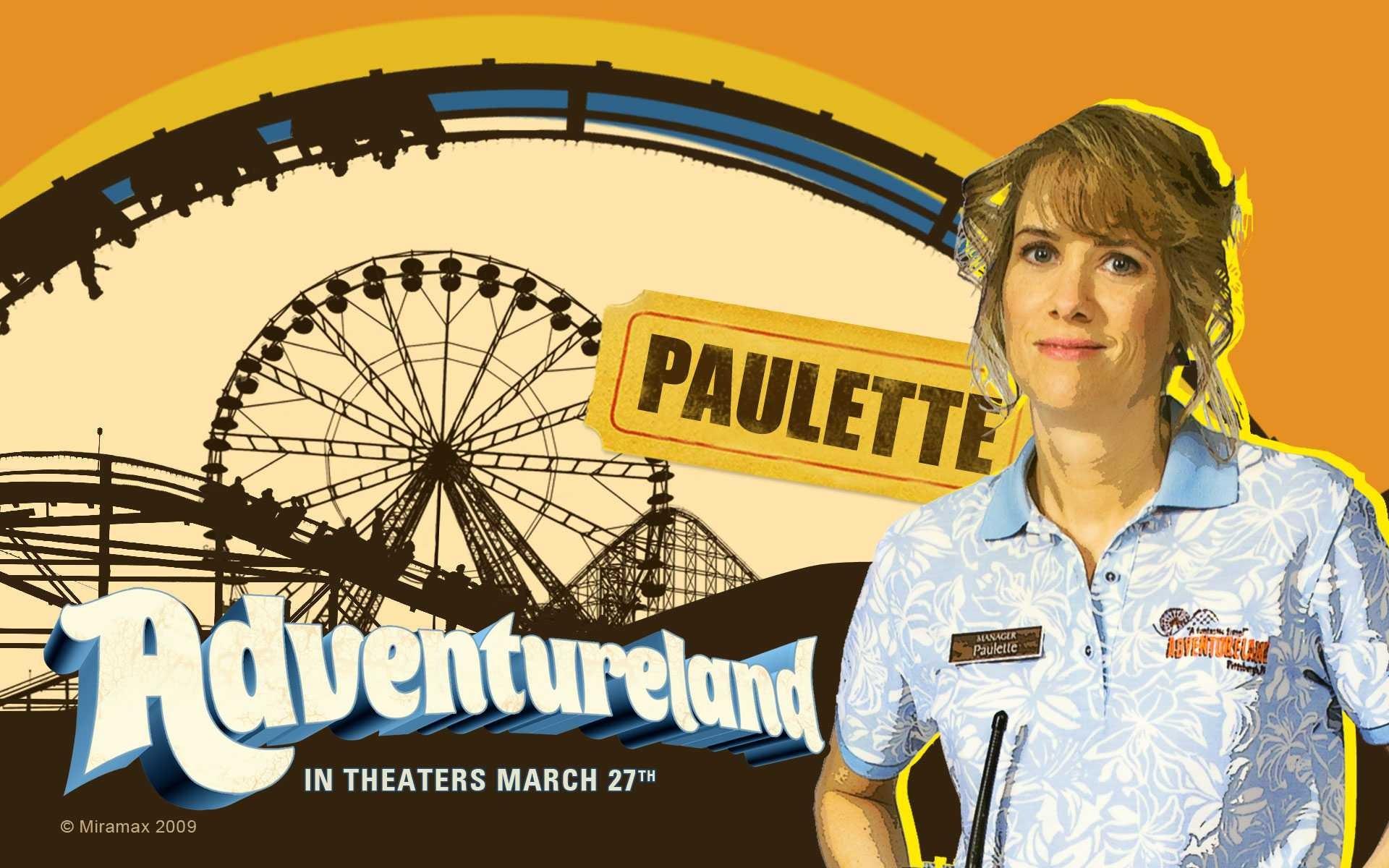 Un wallpaper del film Adventureland con Kristen Wiig