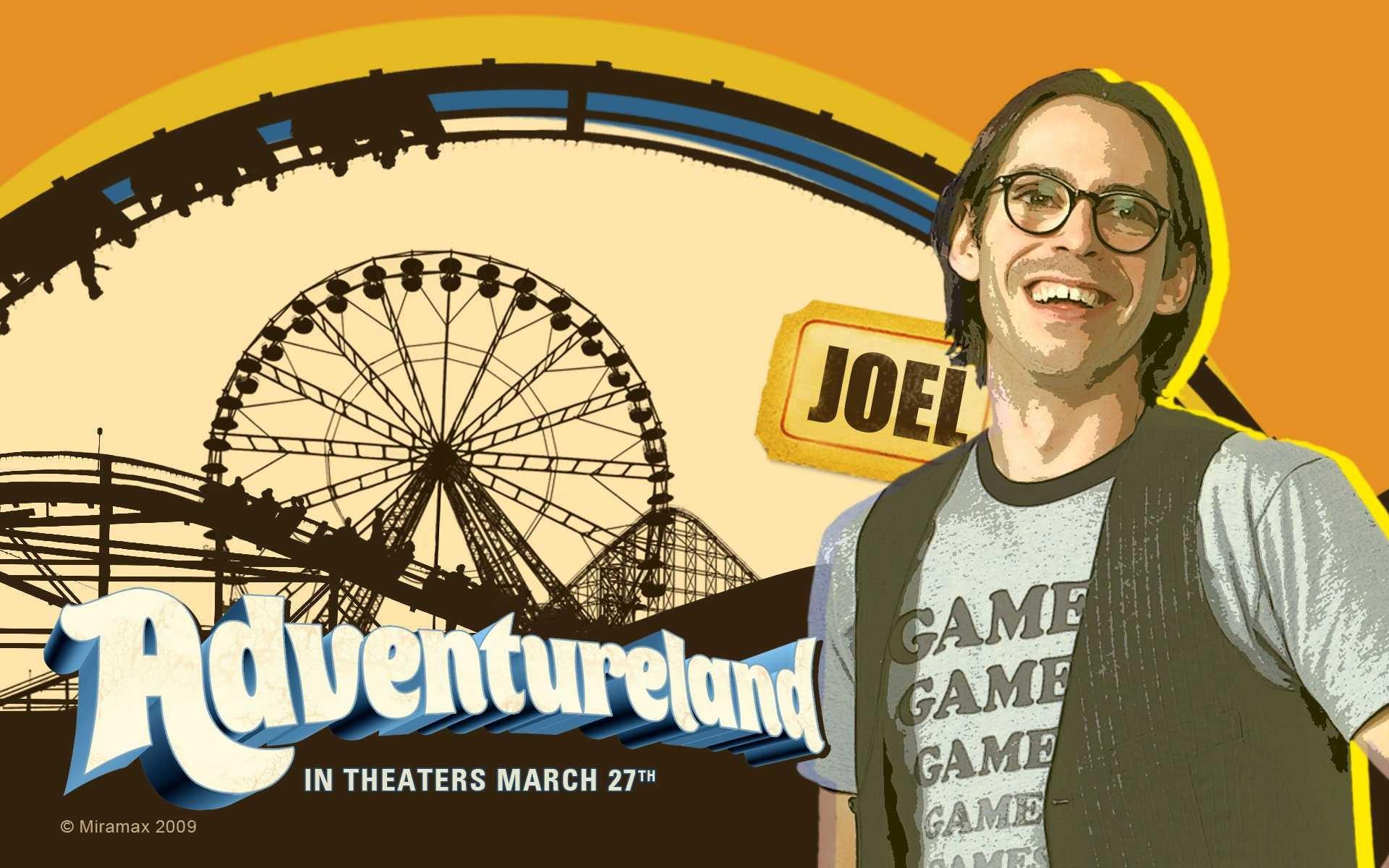 Un wallpaper del film Adventureland con Martin Starr