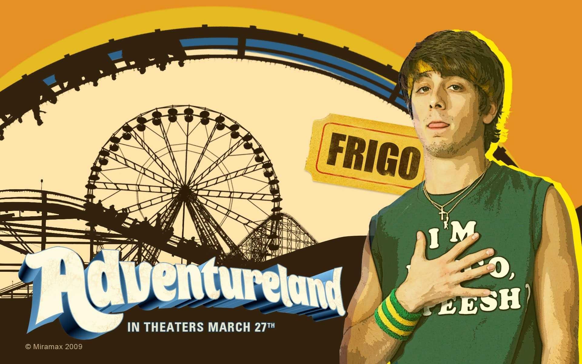Un wallpaper del film Adventureland con Matt Bush
