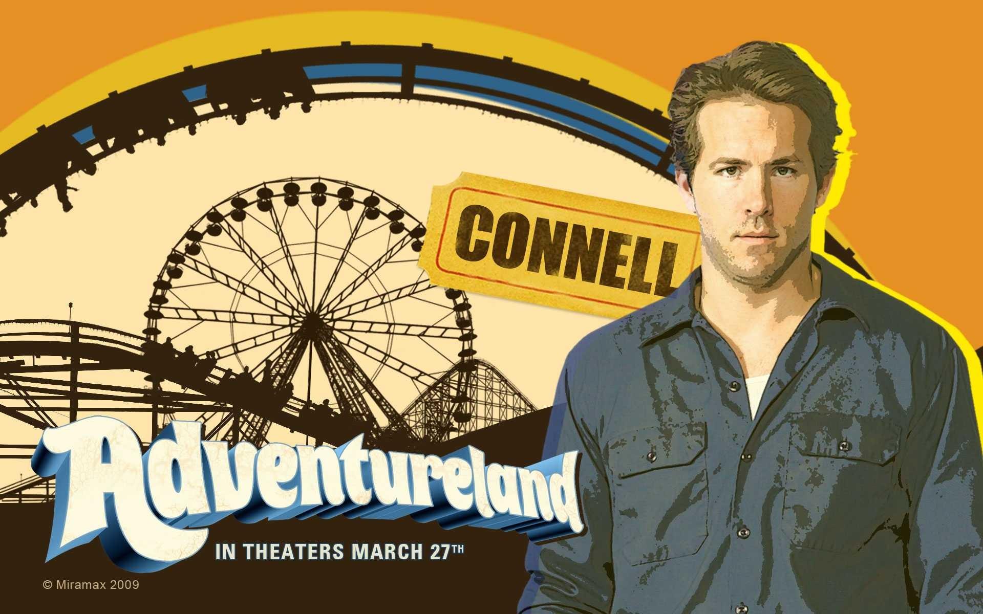 Un wallpaper del film Adventureland con Ryan Reynolds