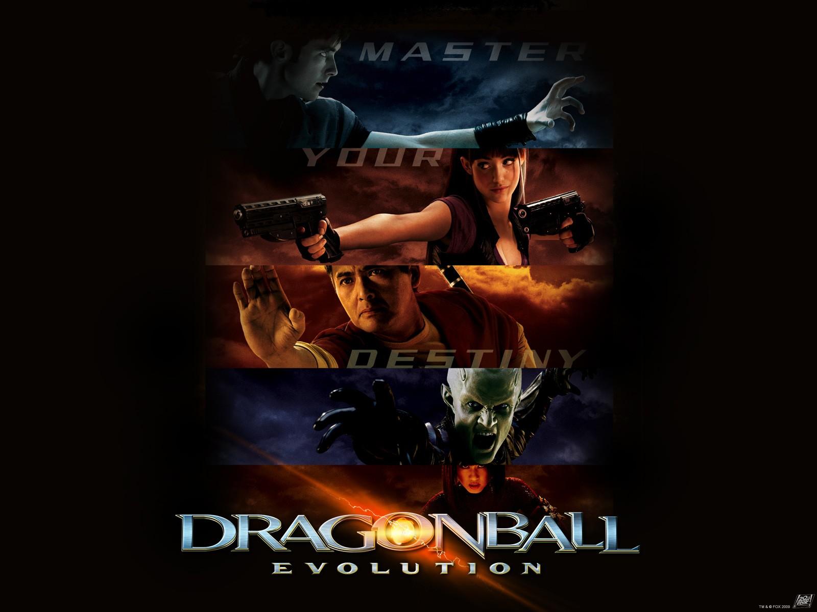 Un wallpaper del film Dragonball