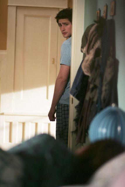 Matt Dallas in un momento dell'episodio 'Altri modi di comunicare' della serie tv Kyle XY