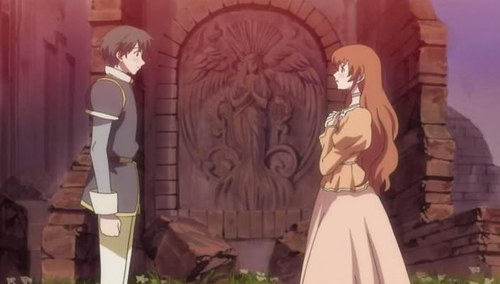 Una scena dell'anime Romeo x Juliet