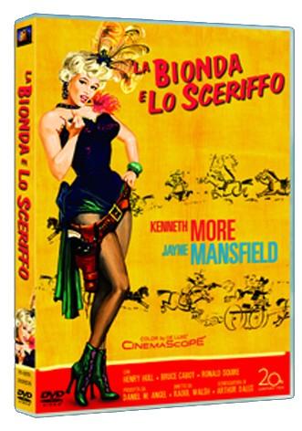 La copertina di La bionda e lo sceriffo (dvd)