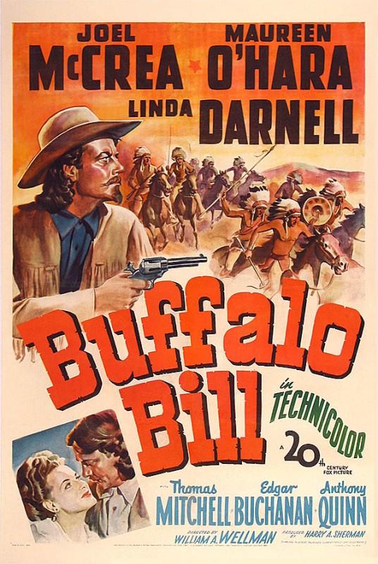 La locandina di Buffalo Bill