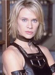 Lisa Ryder nella serie TV Andromeda