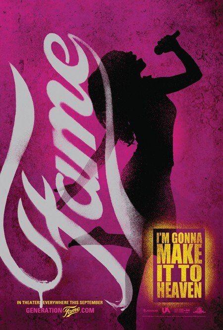 Un secondo poster per il film Fame