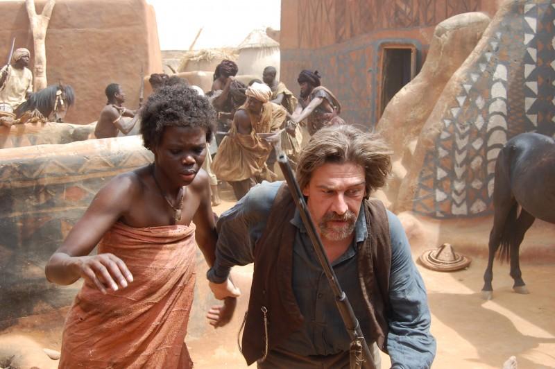 Fatou Kine Boye e Fabio Sartor in una scena di Bakhita