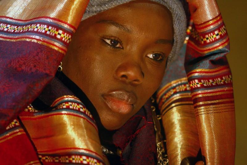 Fatou Kine Boye nel ruolo di Bakhita nel film TV di Rai Fiction