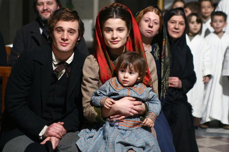 Ludovico Fremont e Giulia Elettra Gorietti in una scena di Bakhita