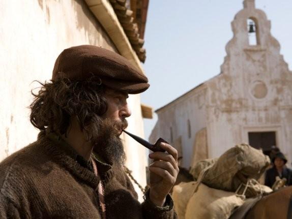 Benicio Del Toro in un'immagine di Che - Guerriglia