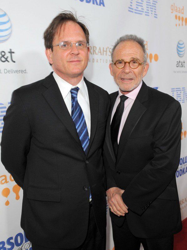 David Marshall Grant e Ron Rifkin, al 19esimo GLAAD Media Awards di Los Angeles