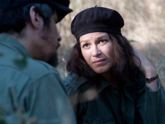 Franka Potente in una sequenza del film Che - Guerriglia