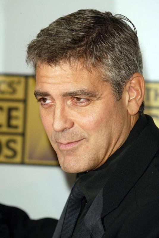 George Clooney, in occasione dell'11esimo Critics' Choice Awards