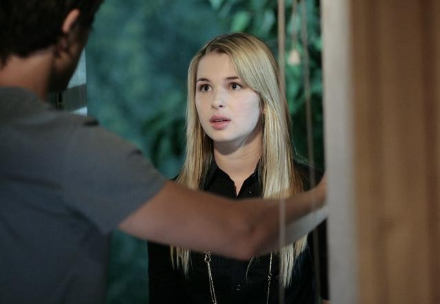 Kirsten Prout durante una sequenza dell'episodio 'Great Expectations' della serie tv Kyle XY