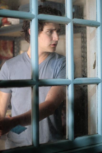 Kyle, interpretato da Matt Dallas, nell'episodio 'Great Expectations' della serie tv Kyle XY