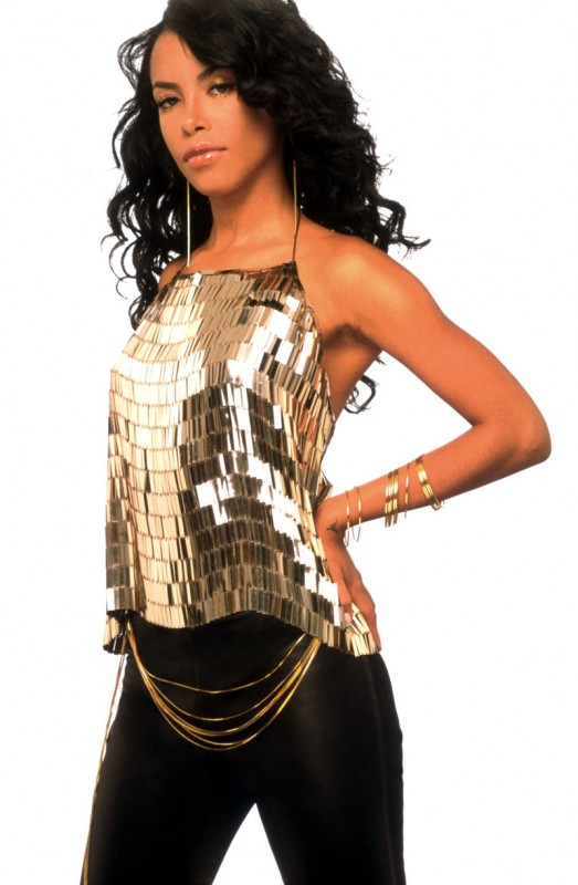 La cantante Aaliyah
