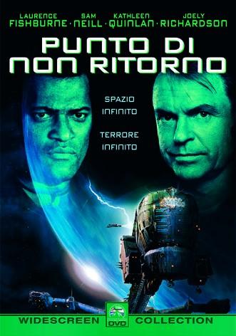 La copertina di Punto di non ritorno (blu-ray)