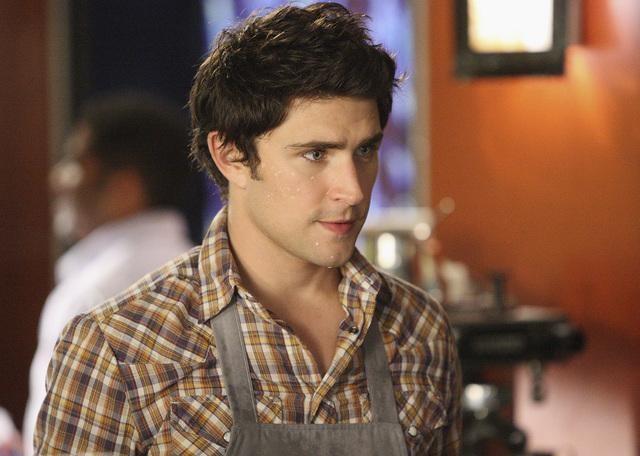 Matt Dallas in un momento dell'episodio 'Between the Rack and a Hard Place' della serie tv Kyle XY