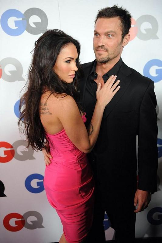 Megan Fox accanto a Brian Austin Green