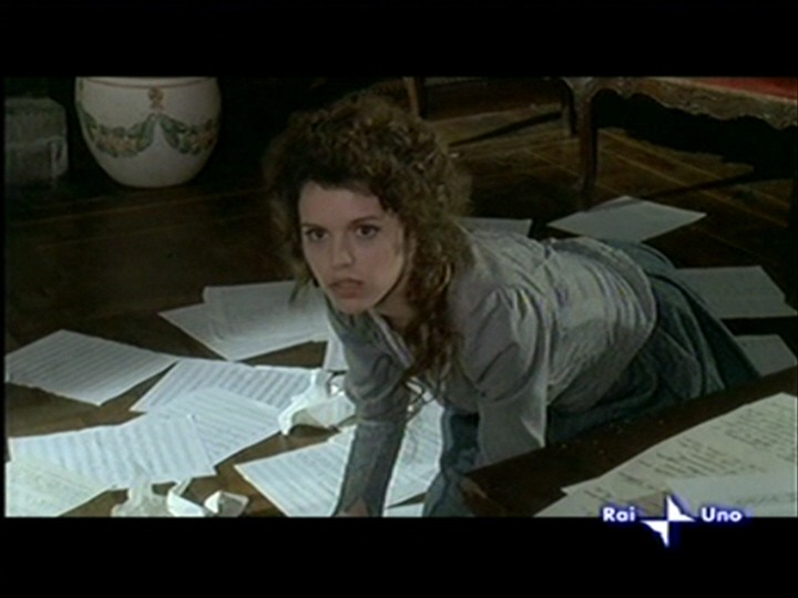 Pamela Saino nel ruolo di Doria Manfredi nella miniserie tv 'Puccini'