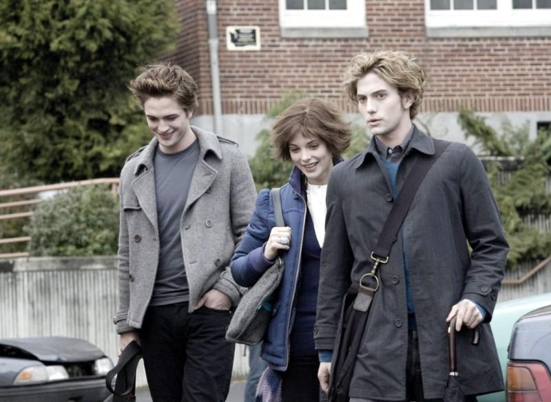 Robert Pattinson, Ashley Greene e Jackson Rathbone in Twilight