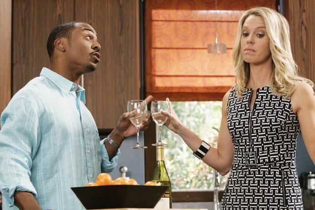 RonReaco Lee e Jessica St. Clair nell'episodio Shepfather di In the Motherhood