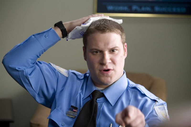 Seth Rogen in un'immagine del film Observe and Report