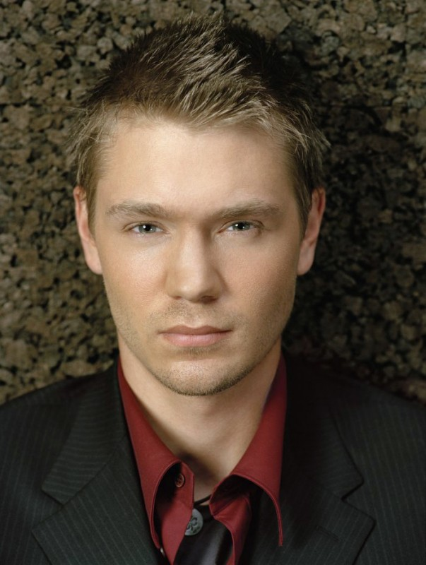 Un bel primo piano dell'attore Chad Michael Murray