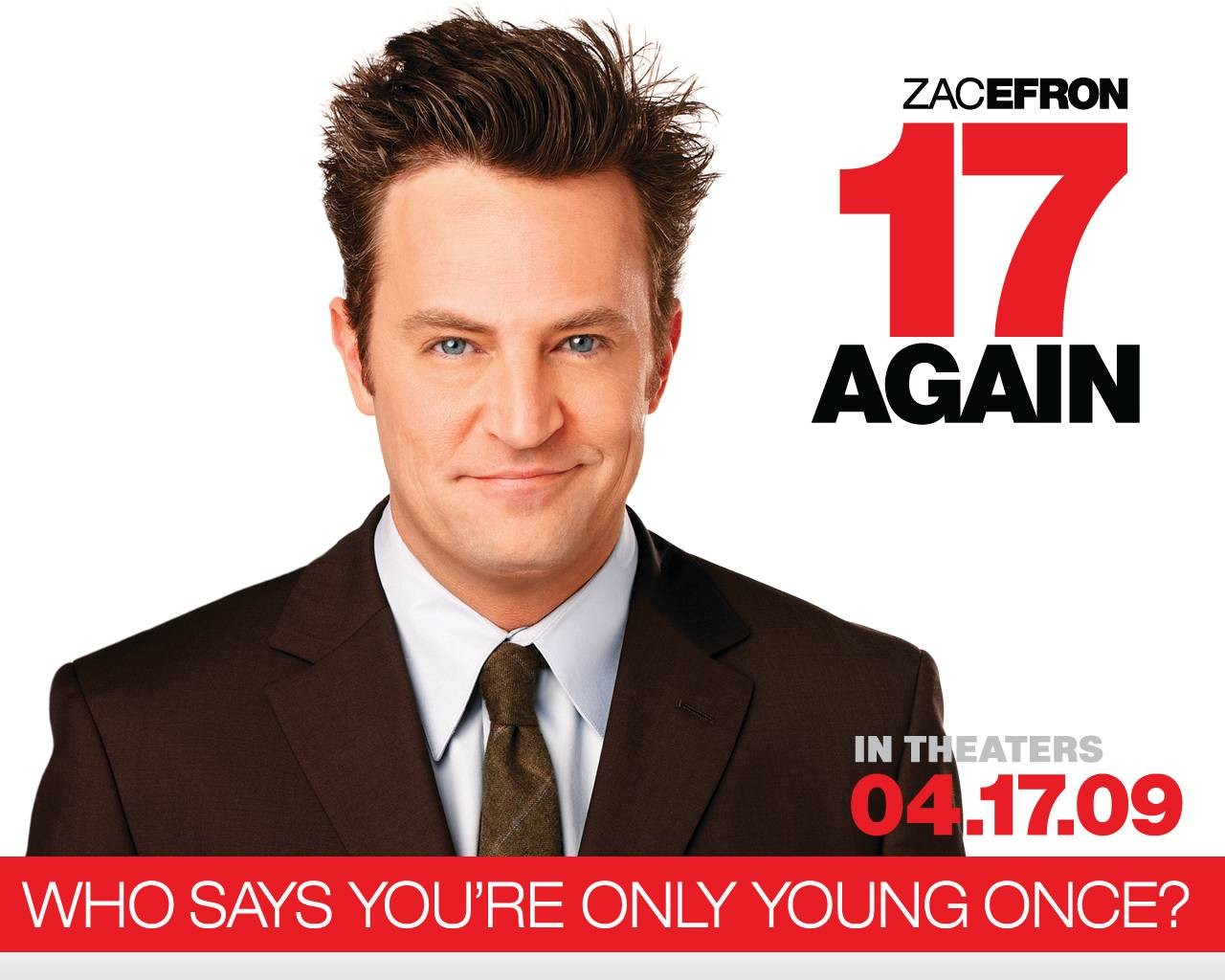 Un wallpaper del film 17 Again - Ritorno al Liceo con Matthew Perry