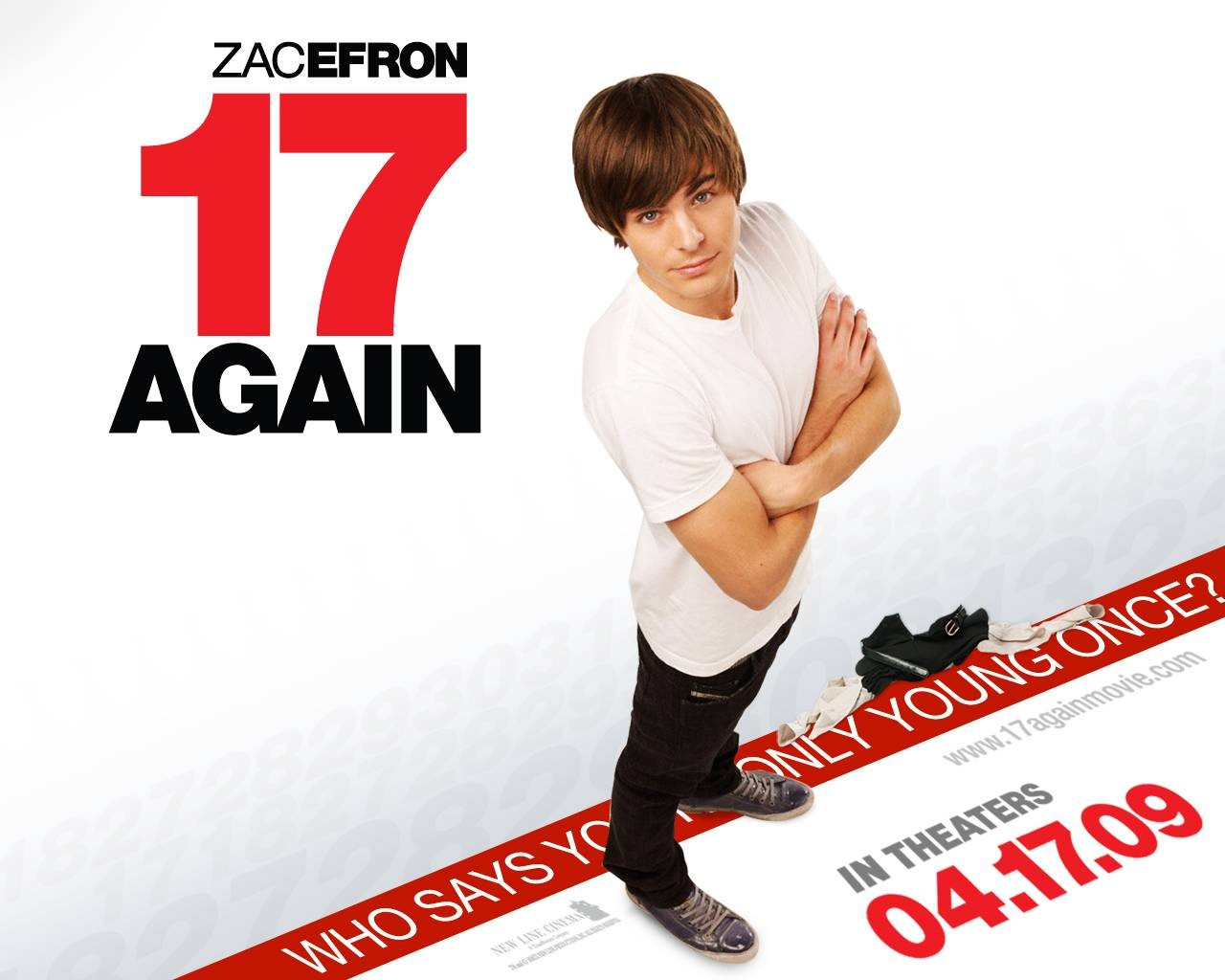Un wallpaper di 17 Again - Ritorno al Liceo con Zac Efron: 110808 -  Movieplayer.it
