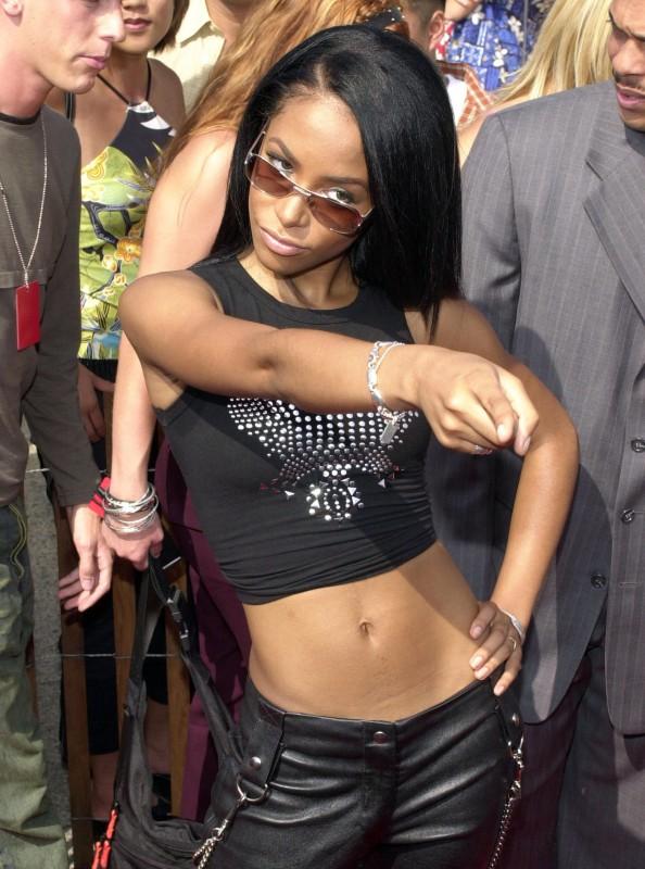 Una foto di Aaliyah