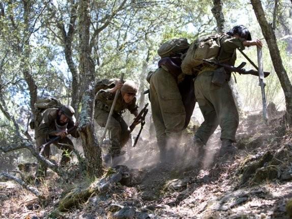 Una scena del film Che - Guerriglia