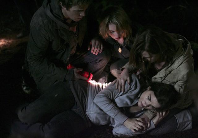 Una scena molto intensa dell'episodio 'Fantasmi' della seconda stagione di Kyle XY