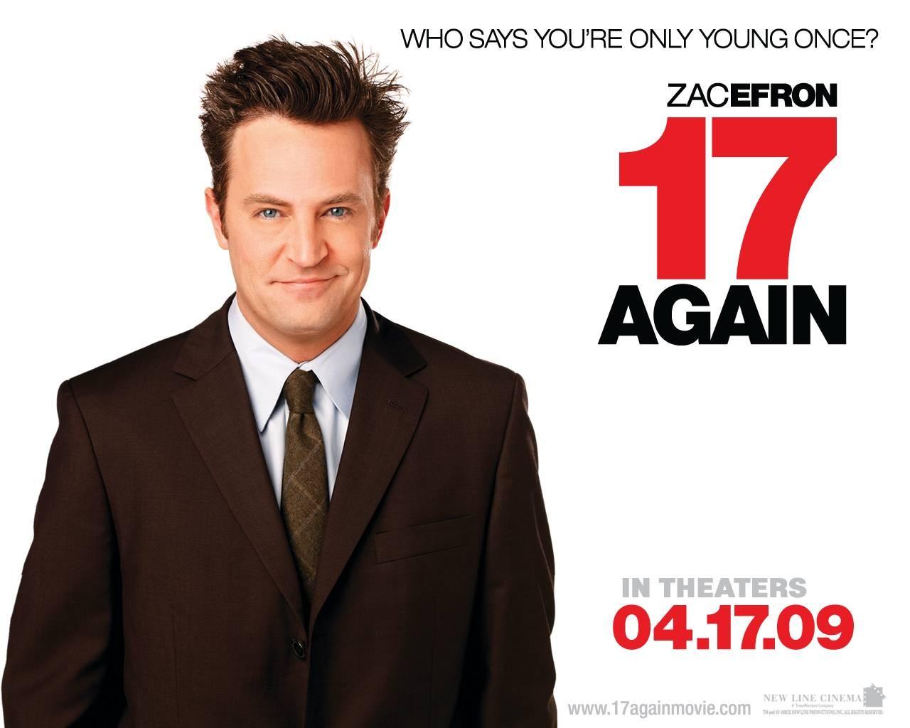 Wallpaper del film 17 Again - Ritorno al Liceo con Matthew Perry