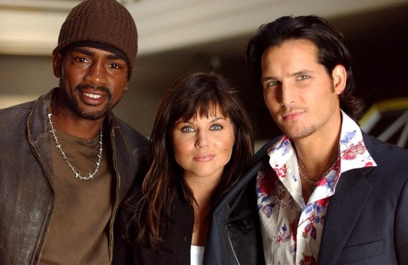 Bill Bellamy, Tiffani Amber-Thiessen e Peter Facinelli in una immagine della serie tv Fastlane