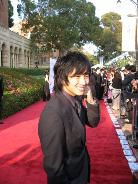 Justin Chon sul red carpet