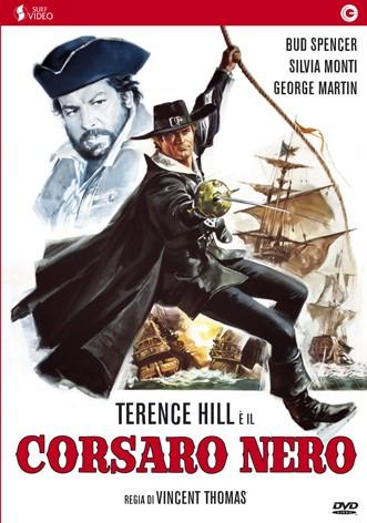 La copertina di Il corsaro nero (dvd)