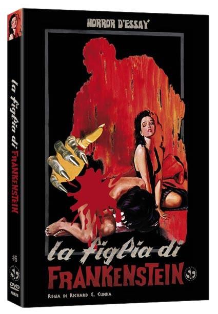 La copertina di La figlia di Frankenstein (dvd)