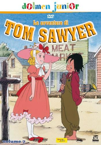 La copertina di Le avventure di Tom Sawyer vol. 7 (dvd)