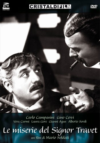 La copertina di Le miserie del signor Travet (dvd)