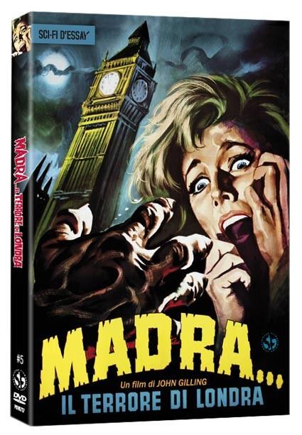 La copertina di Madra, il terrore di Londra (dvd)