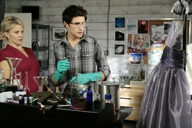 Matt Dallas e Marguerite MacIntyre nel finale della seconda stagione di Kyle XY: I've Had the Time of my Life